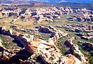 aerial of Canyonlands, Utah 3 by Margaret  Hyde
