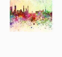 Guangzhou skyline in watercolor background T-Shirt