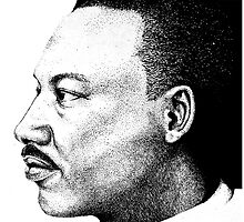 Dr Martin Luther King by Kate Trenerry
