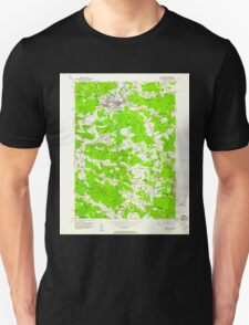 USGS TOPO Map New Hampshire NH Exeter 329555 1950 24000 T-Shirt