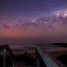 Aurora at Kilcunda beach by Robyn Lakeman