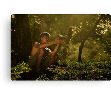 Guardian and Hero Canvas Print