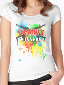 Denny's is for Winners Women's Fitted Scoop T-Shirt