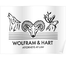 Wolfram & Hart: Attorneys at Law Poster