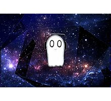 Napstablook Galaxy Photographic Print
