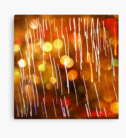 Abstract Lighting Canvas Print
