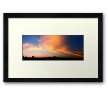©HCS Orange Glow I Framed Print