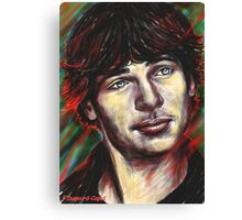 Tom, featured in Artists on Facebook Canvas Print