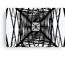 From Underneath the Pylon Canvas Print