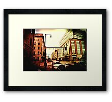 Wynkoop and 16th Framed Print