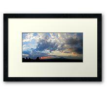 ©HCS December Sunset I Framed Print
