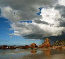 Flynns Beach, Port Macquarie, NSW by Jennifer Eurell