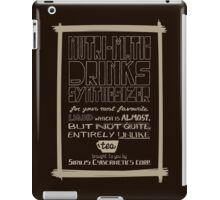 Nutri-Matic Drinks Synthesizer iPad Case/Skin