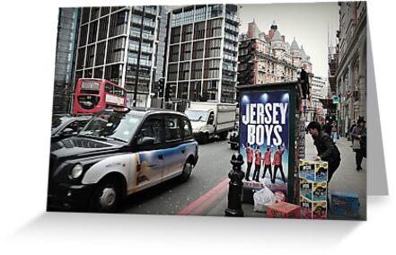 London - Jersey Boys. by Jean-Luc Rollier