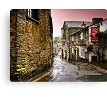 Sheila's Cottage in Ambleside, Lake District, UK Canvas Print