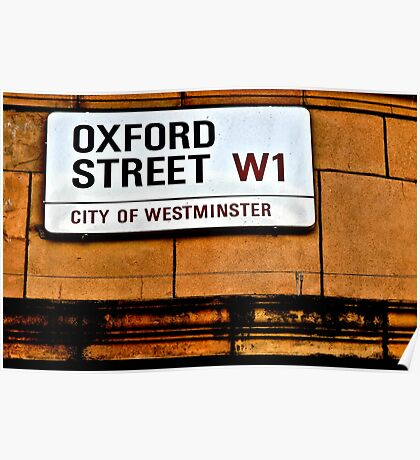 Oxford Street Poster