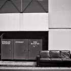 Seat by the fire (hydrant) - Brisbane - Australia by Norman Repacholi