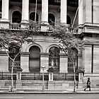 Stately Stroll - Brisbane - Australia by Norman Repacholi