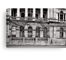 Stately Stroll - Brisbane - Australia Canvas Print