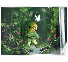 Legend of Zelda- Forest Link Poster