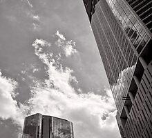 Reflecting the times - Brisbane - Australia by Norman Repacholi