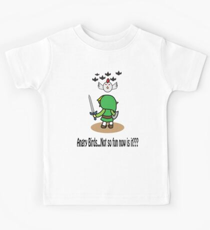 Angry Birds...Not So Fun Now Is It??? Kids Tee