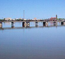 Riverwalk Pier by Francis LaLonde