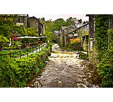 Water flowing at Ambleside, Lake District, UK Photographic Print