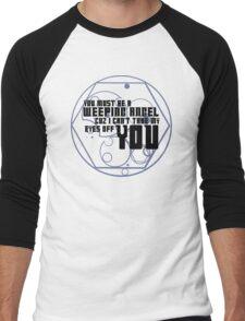 Must be an angel Men's Baseball ¾ T-Shirt