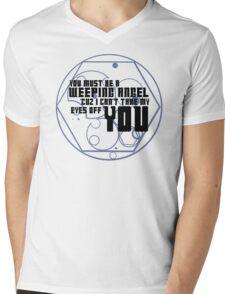 Must be an angel Mens V-Neck T-Shirt