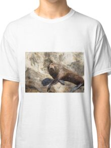 New Zealand Fur Seal 2 Classic T-Shirt