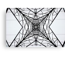 From Underneath the Pylon no.2 Canvas Print