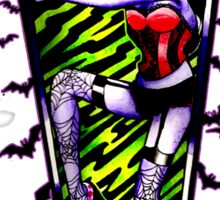 Pin Up Ghouls - Vampire Girl Sticker