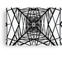 From Underneath the Pylon no.3 Canvas Print