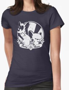 Pinky & The Brain Womens Fitted T-Shirt