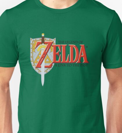 Zelda's Link To The Past Unisex T-Shirt