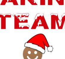 Holiday Baking Team Sticker