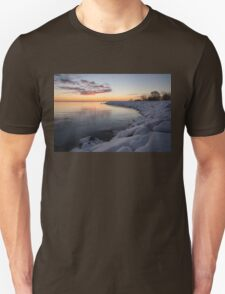 Small Cove Pink and Snowy Dawn Unisex T-Shirt