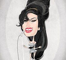 Amy Winehouse by drawgood