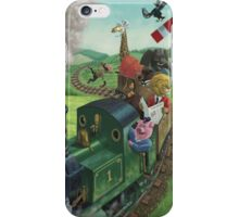 animal train journey iPhone Case/Skin