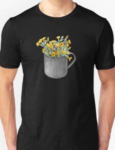 Mug with primulas Unisex T-Shirt