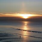 Sunrise in Hastings by Sandra Caven