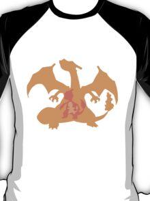 Charmander Evolution Line Inside T-Shirt