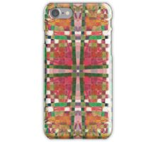 Textural Weave Collage iPhone Case/Skin