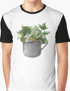 Mug with green forest growth Graphic T-Shirt