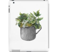 Mug with green forest growth iPad Case/Skin