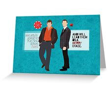 SECURITY Greeting Card