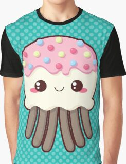 Candy Covered Jellyfish Graphic T-Shirt