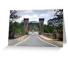 Hampden Bridge 2 Greeting Card