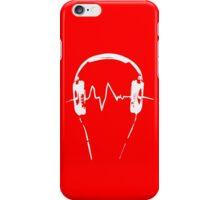 Headphones Frequency Girls funny nerd geek geeky iPhone Case/Skin